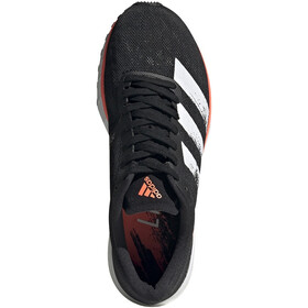 adidas Adizero Adios 5 Shoes Women, core black/footwear white/signal coral